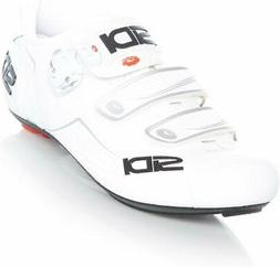 Sidi Alba Carbon Cycling Shoe - Men's White, 40.0