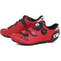 Sidi Alba Carbon LE Road Cycling Bicycle Shoes Matte Red Siz