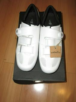 SPECIALIZED Audax FACT Carbon Road Cycling Shoes White BOA S