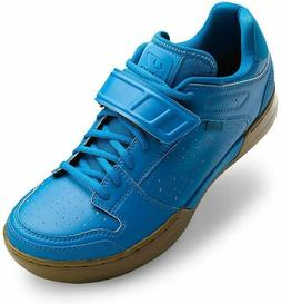 Giro Chamber Men's Mountain Bike Shoes Blue Jewel/Gum 40