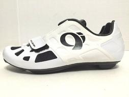 Pearl Izumi Elite Road IV Carbon Cycling Shoes 3-Bolt White