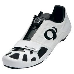 Pearl Izumi Elite Road IV Carbon Road Bike Cycling Shoes Whi