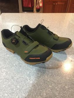 Bontrager Foray Spd Mtb Shoes- Green Olive- Size 39