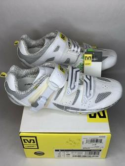 MAVIC GIOVA Cycling Shoes WOMENS size 6.5 / 38  hook & loop