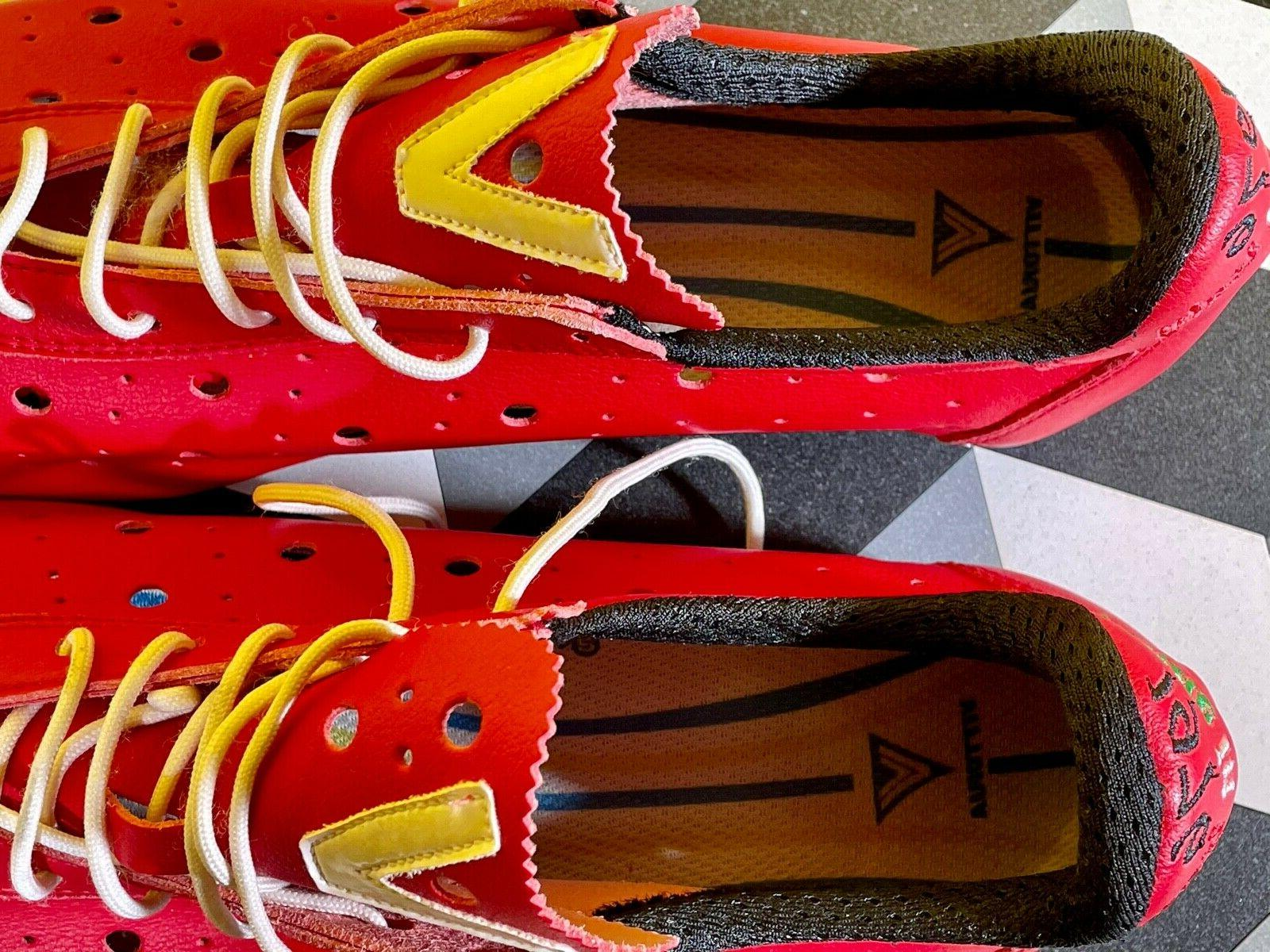 Vittoria 1976 Cycling Shoes Red - Never