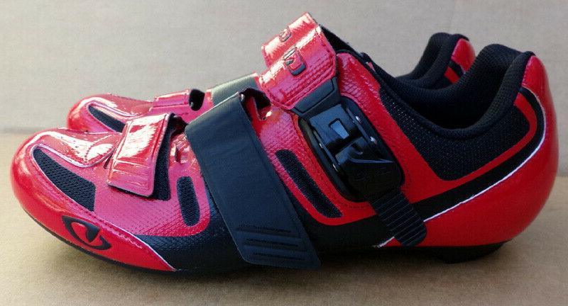 Giro Apeckx II Shoes Red Black Size 11.5 New Please Read