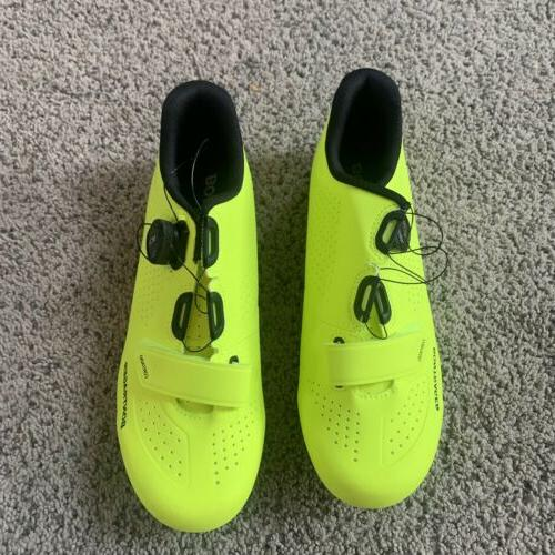 Bontrager Cycling Shoes Neon Yellow - US 9.5