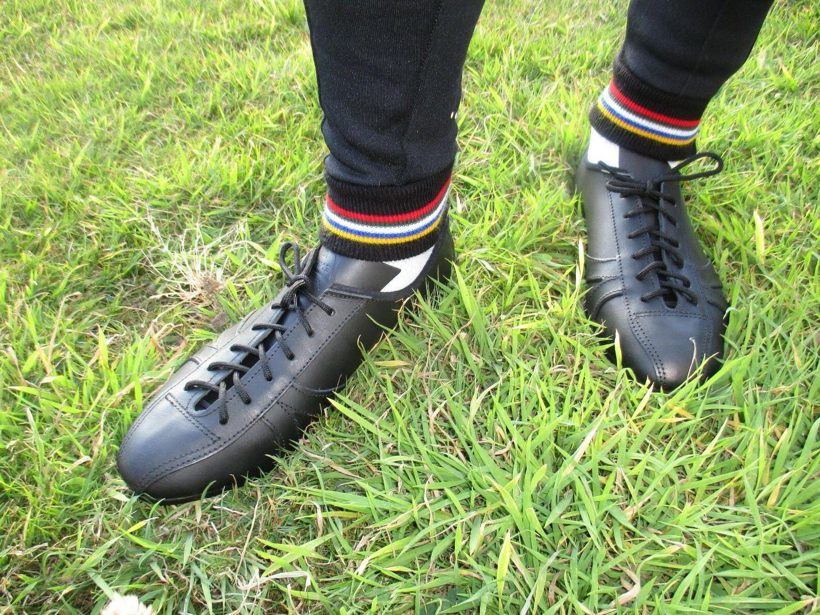 leather cycling shoes vintage classic eroica retro