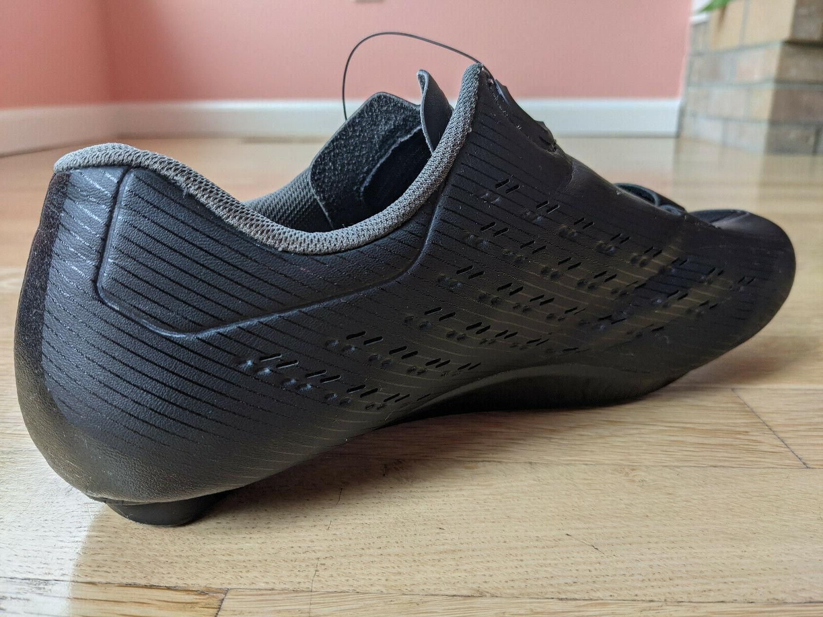 SHIMANO Men's Black Boa Cycling Shoes Size 44