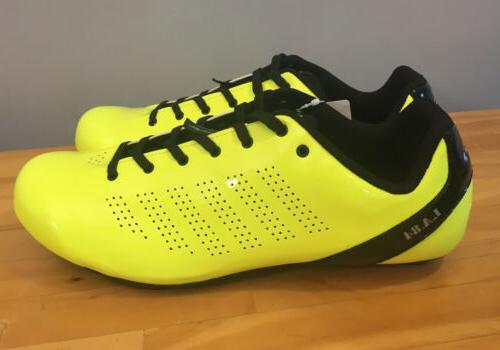 New! Road Cycling Men's Size 47, 13.5 Yellow