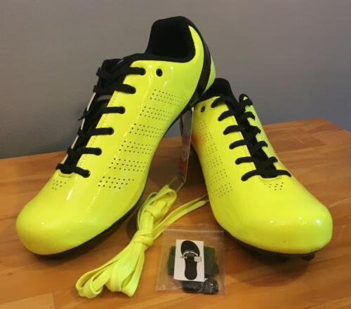 new l a 84 road cycling shoes