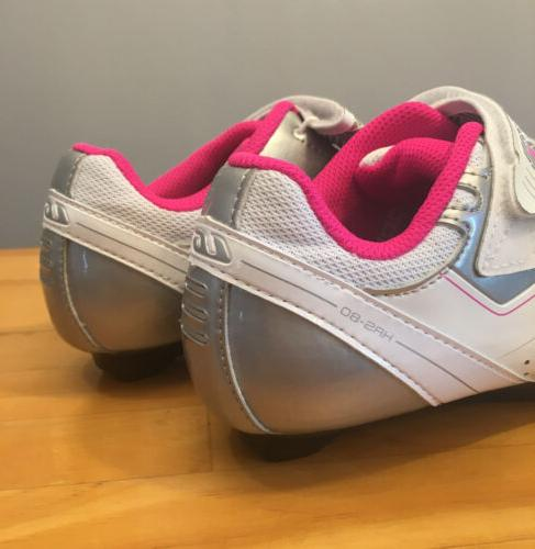 New! Louis Jade Silver/Pink Size 6.5