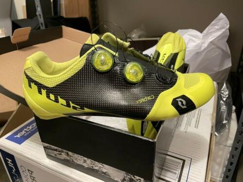 road rc cycling shoes 47 neon yellow