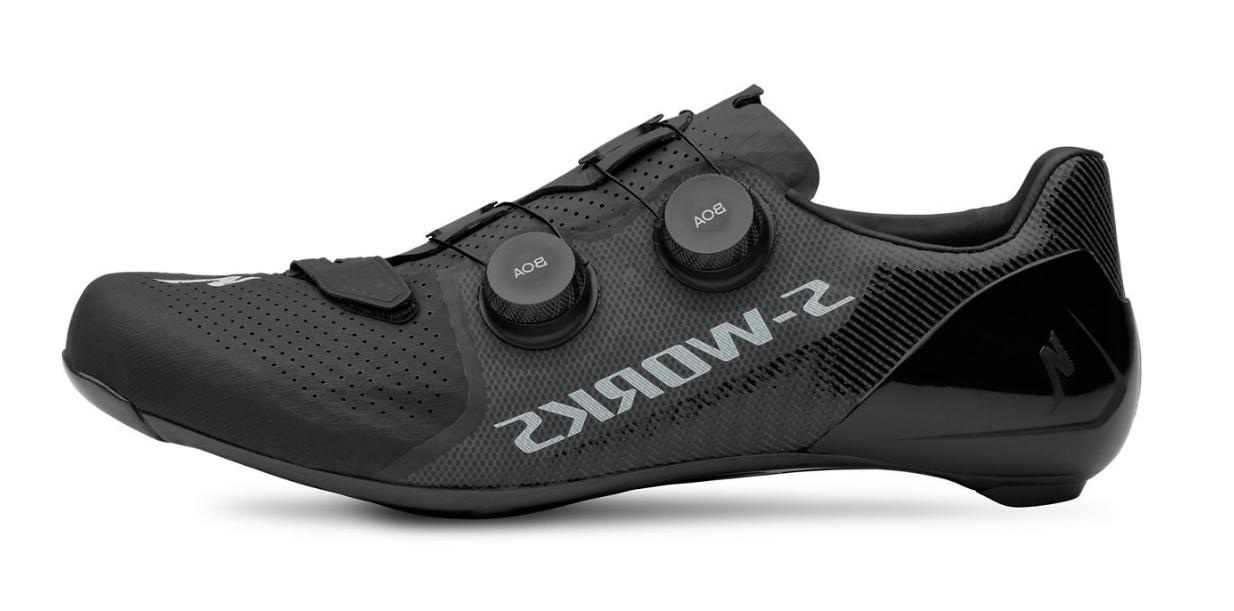 road shoes s works 7 black size