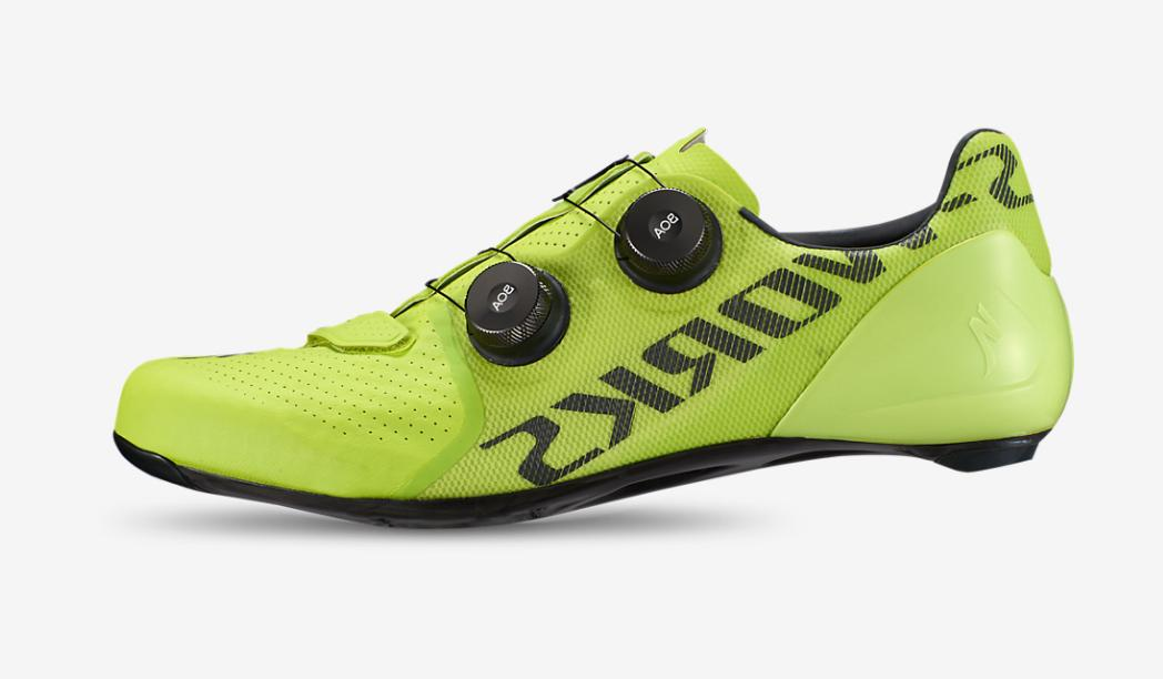 road shoes s works 7 green size