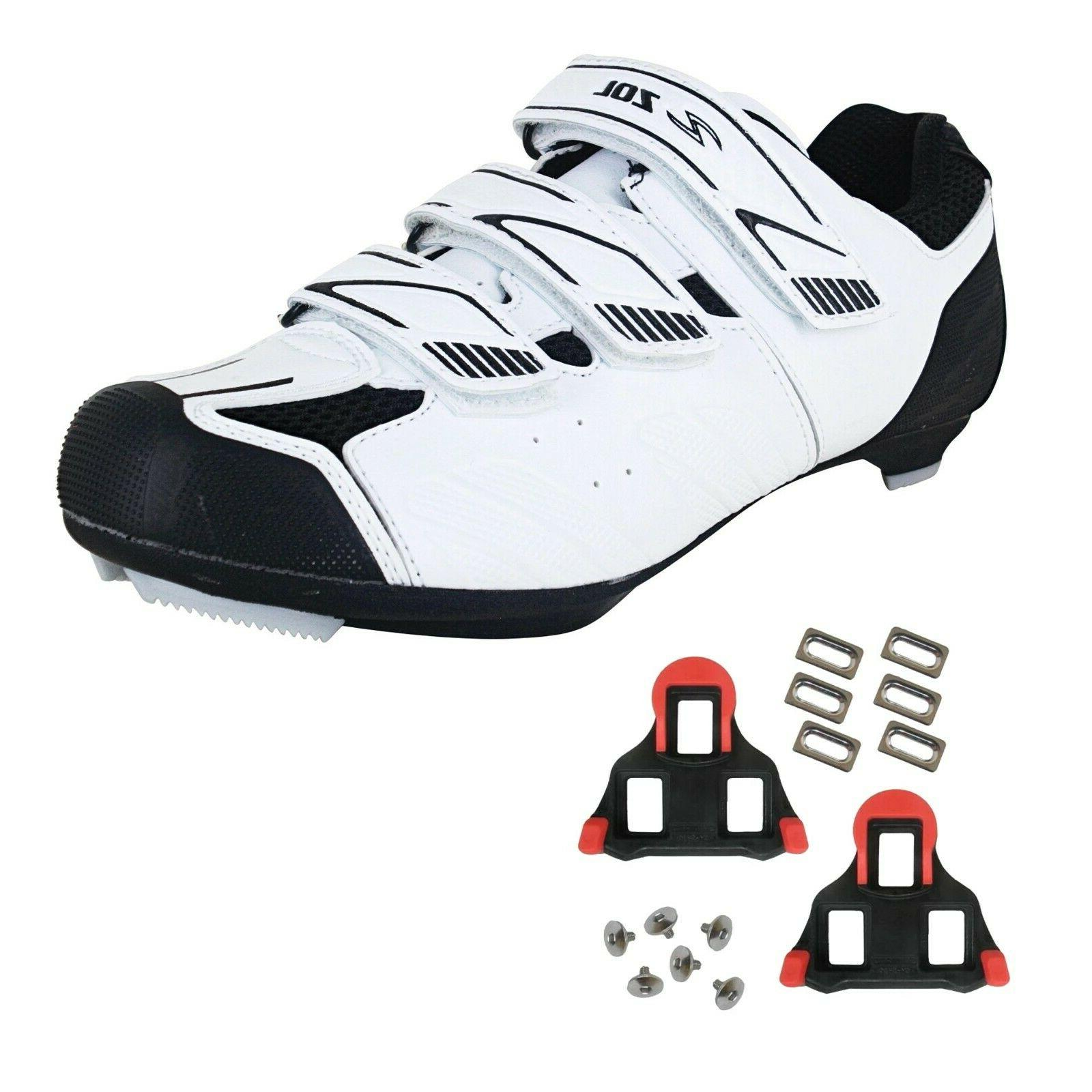 stage road cycling shoes with spd cleats