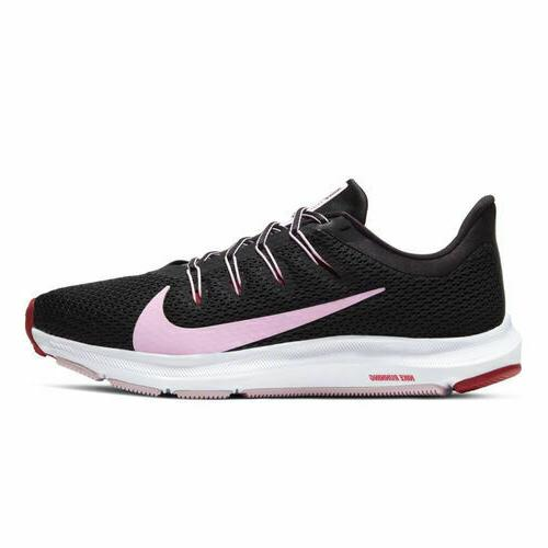 Nike Women's Quest 2 Running Shoe 8 Colors Black & Burgun