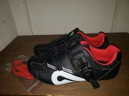 NEW Peloton Cycling Shoes w/Look Delta Cleats-Size 38