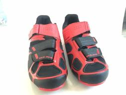 New Pearl Izumi Select RD IV Black/Red Mens Cycling Shoes Si