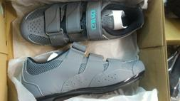 new techne w cycling shoes women gray