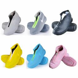 Overshoes Rain Silicone Waterproof Shoe Covers Boot Cover Pr