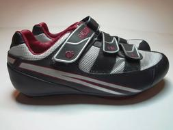 Pearl Izumi Quest RD Black/Grey Road Cycling Shoes Womens 7