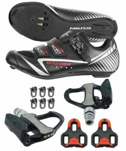 Venzo Road Bike Cycling Shoes Pedals Cleats For Shimano SPD