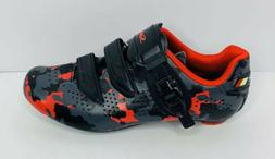 Santic Road Bike Cycling Shoes Self-locking Camouflage Size