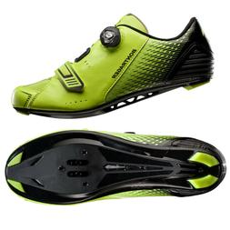 Bontrager Spectre Road Cycling Shoes, Visibility Yellow/Blac