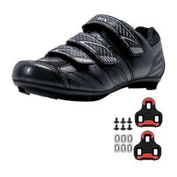 Zol Stage Road Cycling Shoes with Look Keo Cleats Compatible