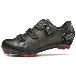 SIDI Trace 2 MEGA  MTB Mountain Bike Shoes Black/Black Size