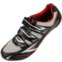 Venzo Bicycle Men's or Women's Road Cycling Riding Shoes - 3