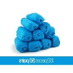 Medical Blue Shoe Covers Non Slip Disposable Floor Protector